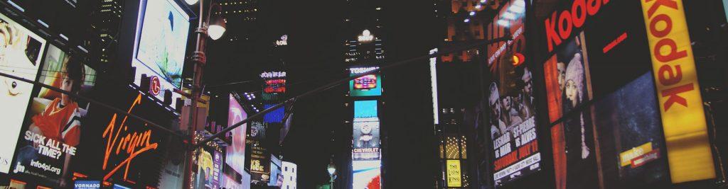 Publicidad en Internet - Time Square