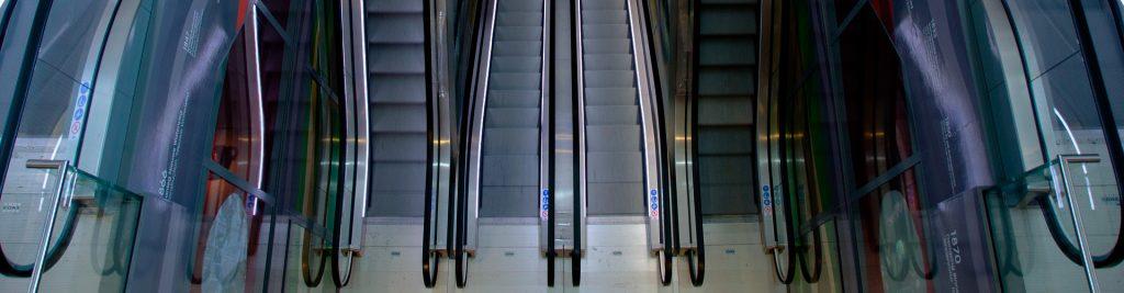 Tiendas online - Escaleras mecánicas