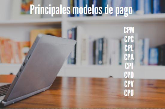 Publicidad principales modelos de pago CPM CPC CPL CPA