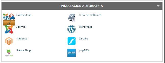 Instalación automática de WordPress en SiteGround